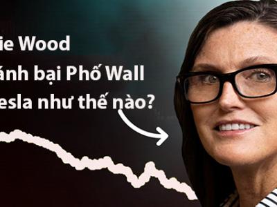 Cathie Wood đã đánh bại Phố Wall với Tesla như thế nào?